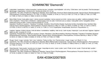 BriConti Schminkkassette 'Diamonds', 1 Stück -