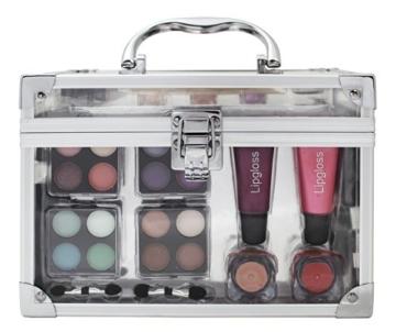 Schminkkoffer 'Acrylic', Acryl-Koffer mit 42 teiligem Schmink- / Make-Up Set -